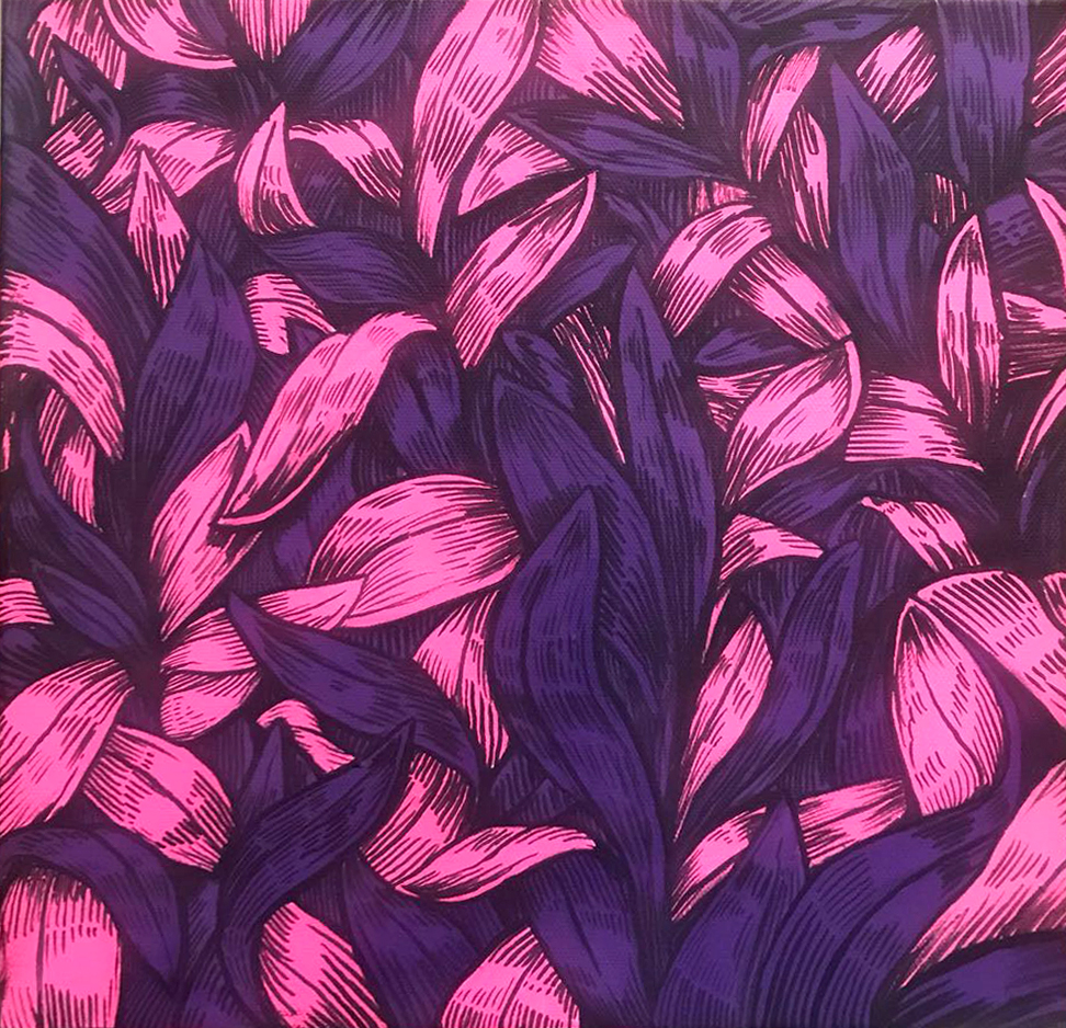 Leave a leaf pink