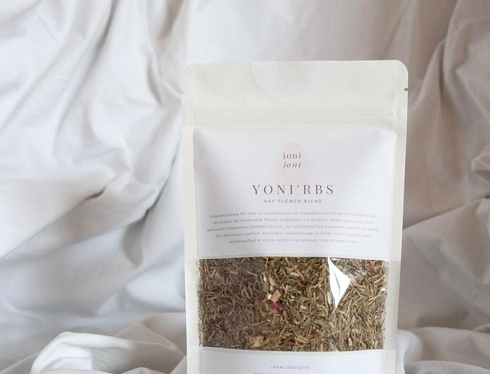 "YONI'ERBS | ""Hay Flowers Blend"" | 50g"
