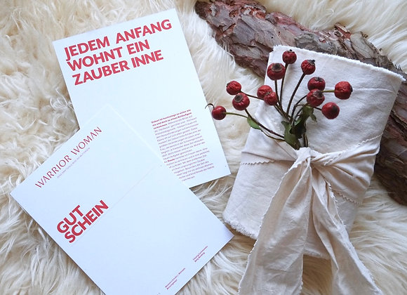 GUTSCHEIN   Bengkung Belly Binding   Tuch & Online-Tutorial