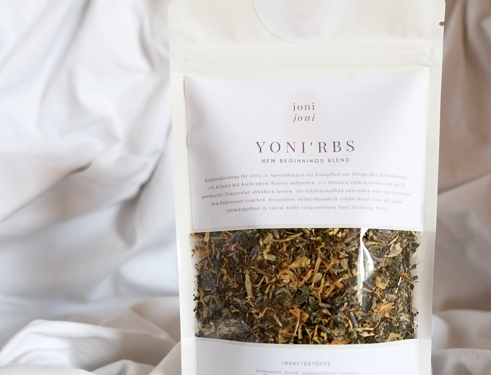 "YONI'ERBS | ""New Beginnings Blend"" 
