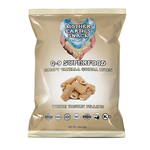 Q-9 SuperFood Vanilla Bites (6 in a pack)