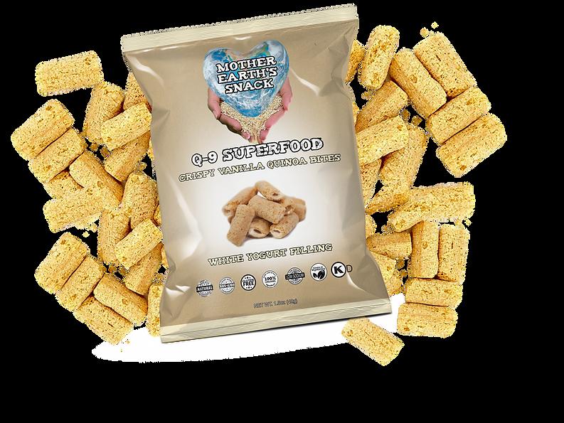 Q-9 Superfood Vanilla Bites