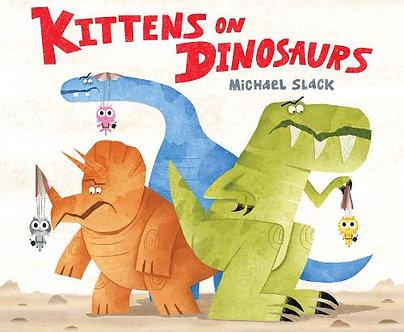 Kittens On Dinosaurs
