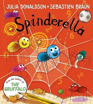 Spinderella Board Book