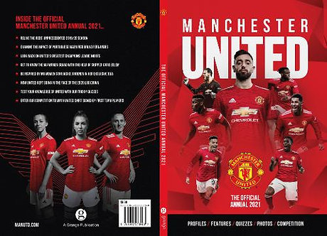 Official Manchester United Annual 2021