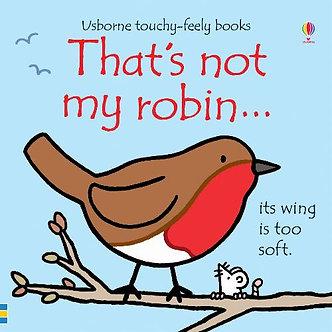 Thats Not My Robin Board Book