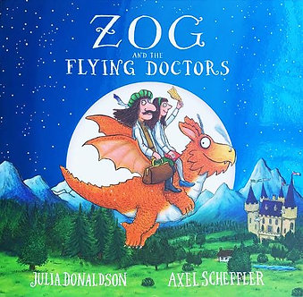 Zog and The Flying Doctors Foiled Edition