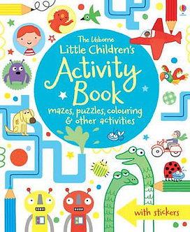 The Usbourne Little Children's Activity Book