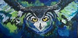 Blue Owl - Fovart Tablosu