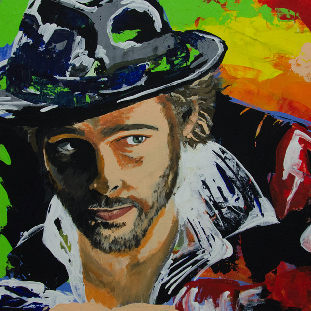 Pop Art: Brad Pitt