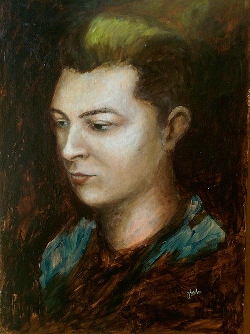 Portrait of John Newman