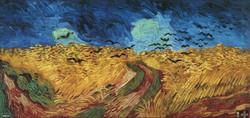 Bugday Tarlası - Van Gogh Tablosu