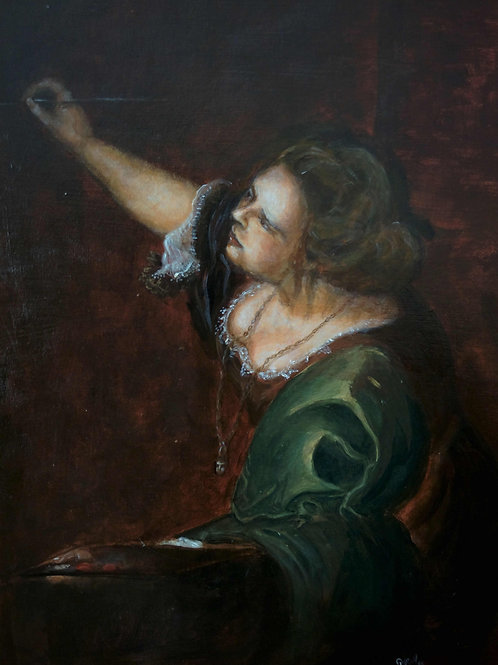 La Pittura - Artemisia Gentileschi