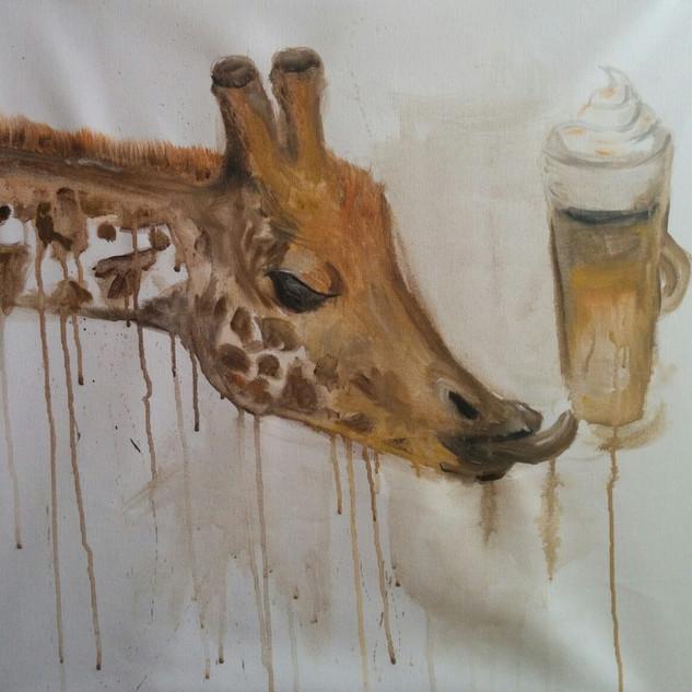 Zürafa ve Latte Macchiato