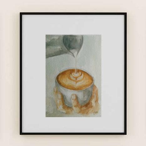 Latte Art #1