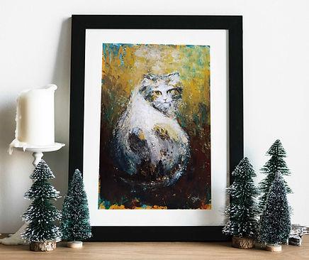 Yeni Hayat dizisi tabloları - Kedi