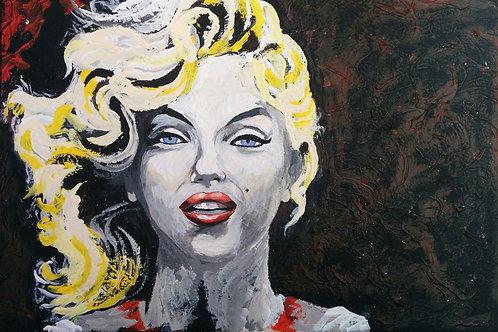 Pop Art: Young Marilyn Monroe