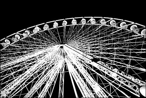 Ferris Wheel Night ©Wendy Paton