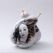 white chrome with woman loving pears.jpg