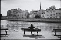Michel Giniès - Paris Quai et banc - 201