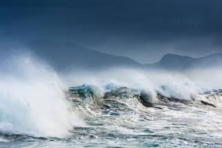 Fury on Harris island