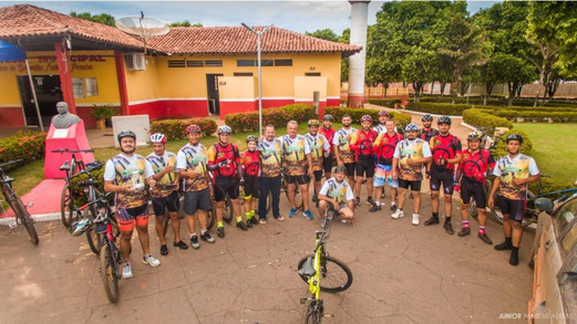 Primeira pedalada ecológica de Tabaporã foi sucesso