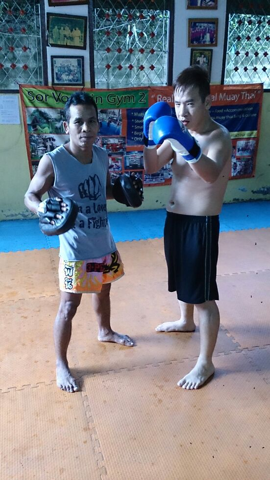 Training at Bangkok