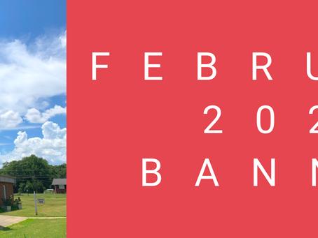 February 2021 Banner