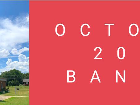 October 2020 Banner