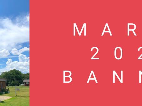 March 2021 Banner