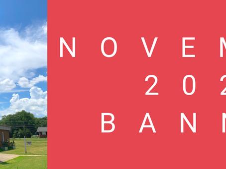 November 2020 Banner