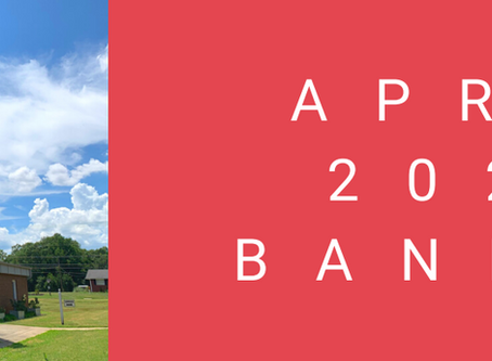 April 2020 Banner