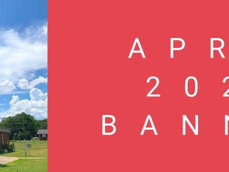 April 2021 Banner