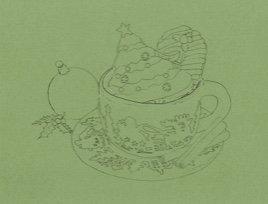 Christmas Cookies Pre-Pattern Paper