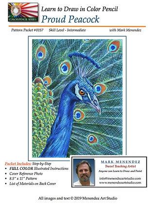 DIGITAL Proud Peacock