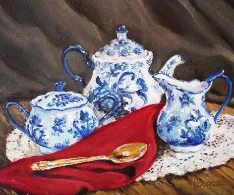"""Blue Tea"""