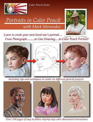 DIGITAL Portraits in Color Pencil