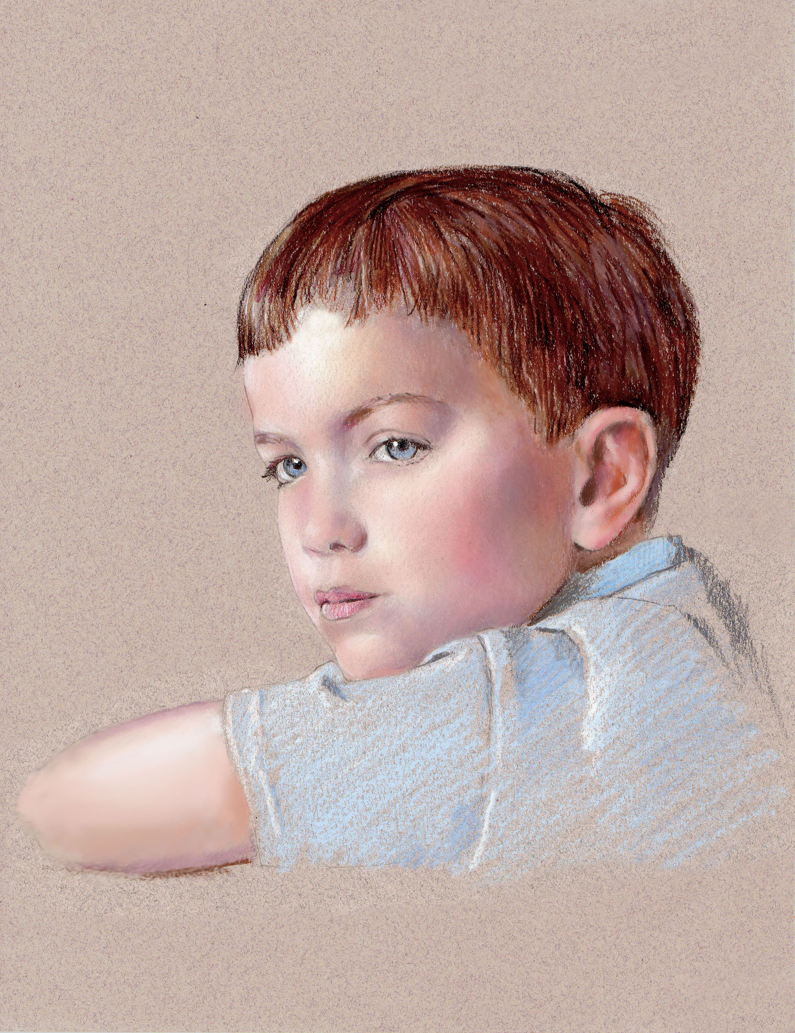 Young Boy's Portrait