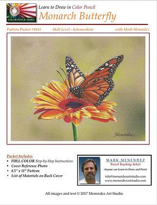 DIGITAL Monarch Butterfly