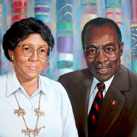 """Dr. and Mrs. Joseph Bethea"""