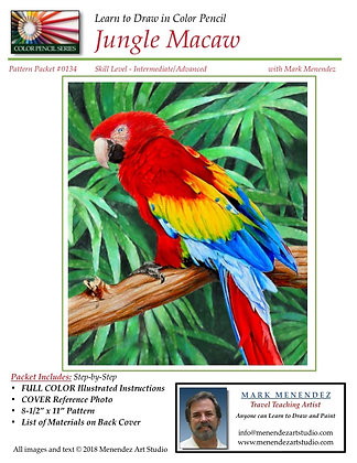 DIGITAL Jungle Macaw