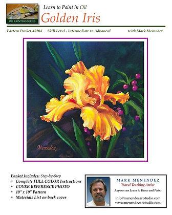 DIGITAL OIL Golden Iris