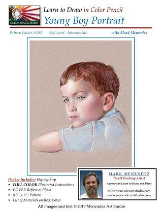 DIGITAL Young Boy Portrait