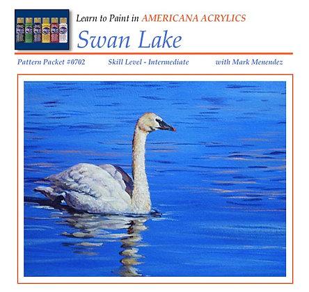 DIGITAL Swan Lake Acrylic