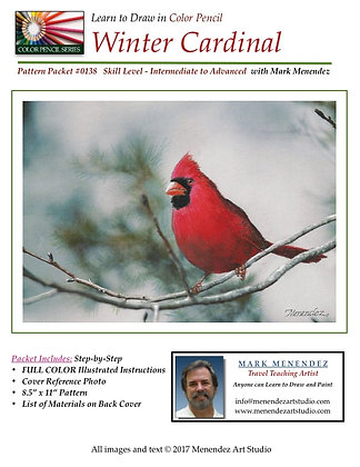 DIGITAL Winter Cardinal