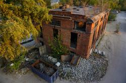Oblot budynku