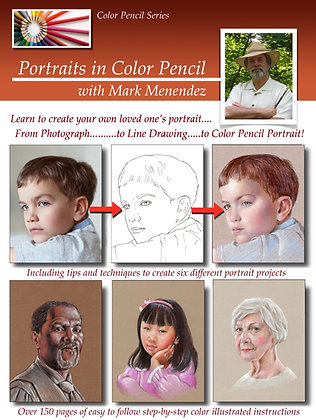 BOOK Portraits in Color Pencil