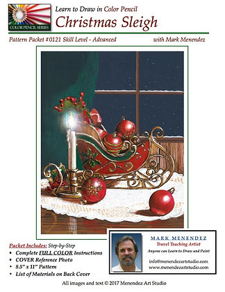 DIGITAL Christmas Sleigh