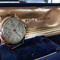 Britix 18k chrono made by Chrographe Sui