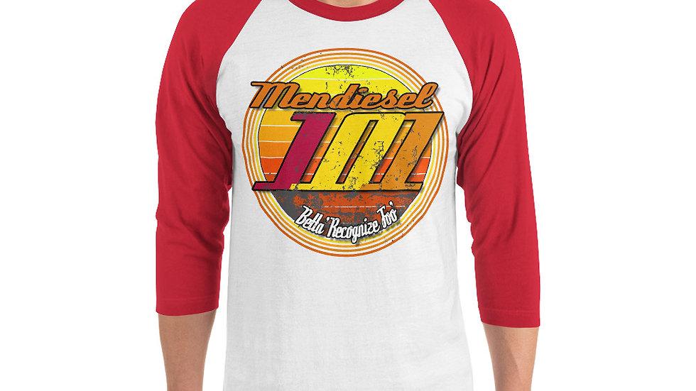 Mendiesel 101 Betta Recognize Foo' 3/4 sleeve shirt